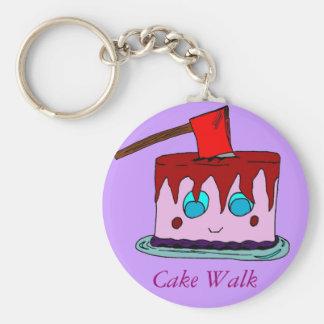 Cake Walk Keychain