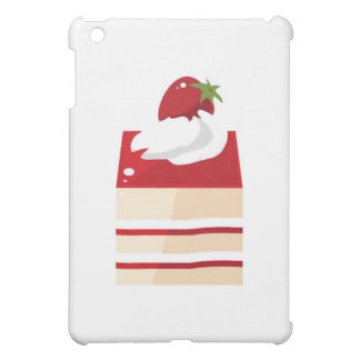 Cake with strawberry cover for the iPad mini