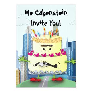 Cakenstein! Invitations