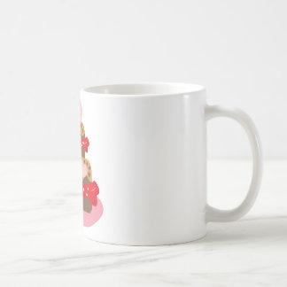 cakes 4 coffee mugs