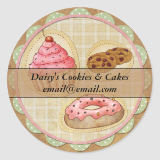 Cakes And Cookies Sticker - Ideal For Home Baking