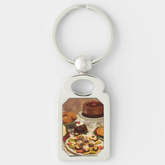Cakes and sweets key chain