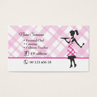 cakes, cook, culinary, catering business card