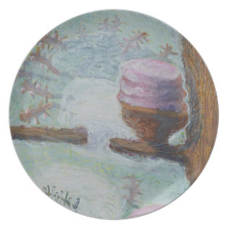 Cakes Up a Tree Plate