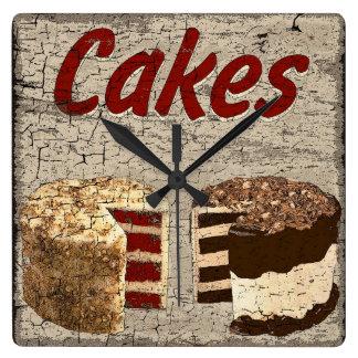 Cakes Wallclocks