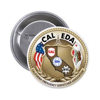 CAL-EDA Logo Pin/Button (Large Logo)
