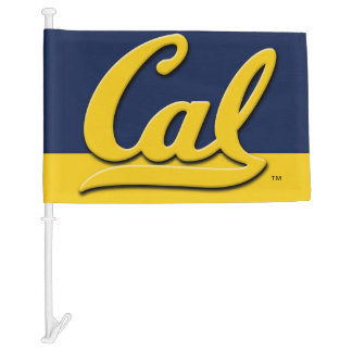Cal Logo Car Flag