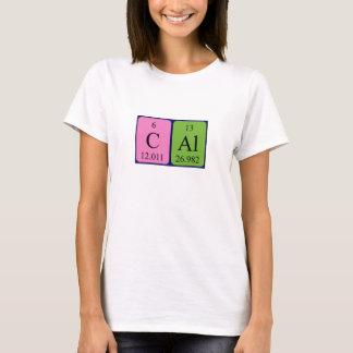 Cal periodic table name shirt