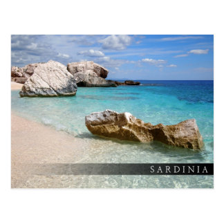 Cala Mariolu beach, Sardinia bar postcard