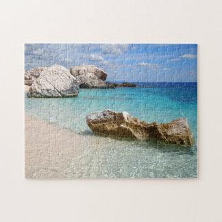 Cala Mariolu beach, Sardinia jigsaw puzzle