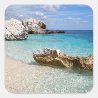 Cala Mariolu beach, Sardinia sticker