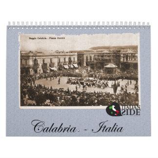 Calabria Italia Calendar