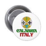 Calabria Italy 6 Cm Round Badge