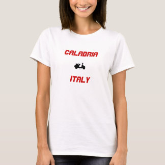 Calabria, Italy Scooter T-Shirt