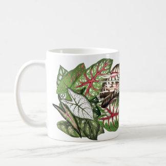 Caladium Leaves Mug