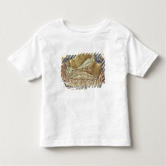 Caladrius bird, reputed to foretell toddler T-Shirt