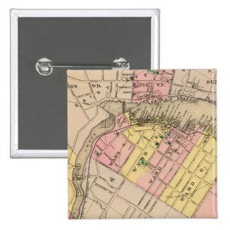 Calais, Washington Co 15 Cm Square Badge