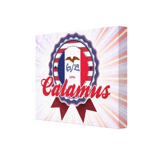 Calamus, IA Gallery Wrap Canvas