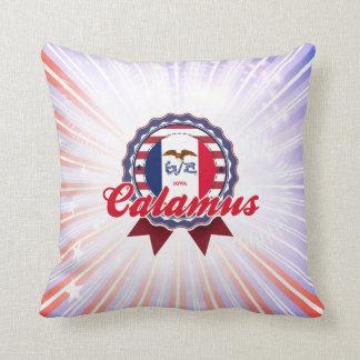 Calamus IA Throw Pillows
