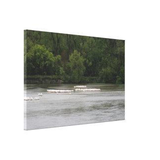 Calamus Lake Canvas Print