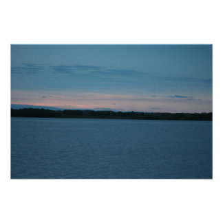 Calamus Lake Sunrise Poster