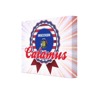 Calamus WI Gallery Wrap Canvas