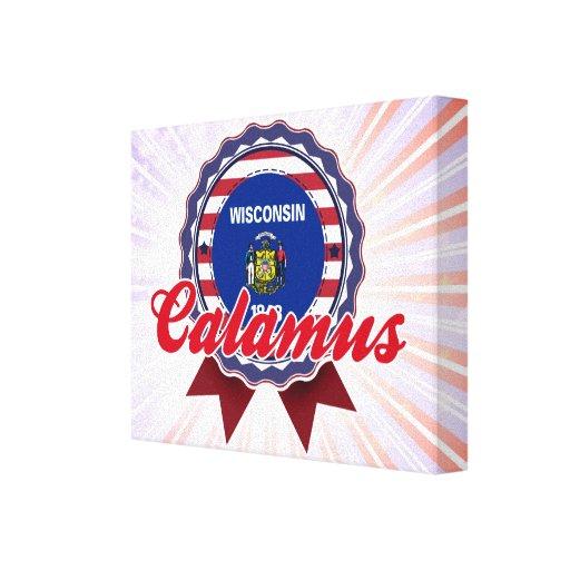 Calamus, WI Gallery Wrap Canvas