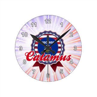 Calamus, WI Clock
