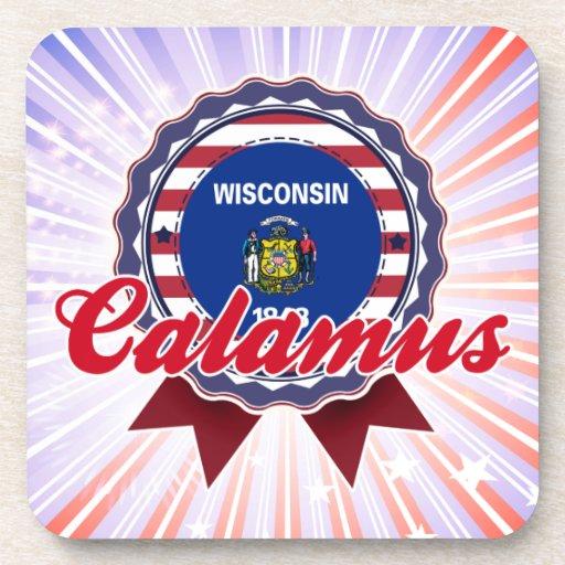 Calamus, WI Beverage Coaster