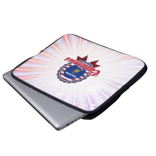Calamus, WI Laptop Computer Sleeve