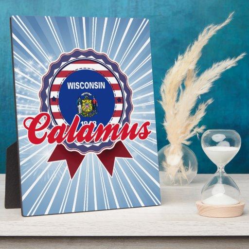 Calamus, WI Plaque