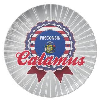 Calamus WI Party Plates