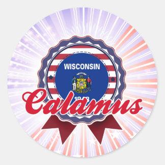 Calamus WI Stickers