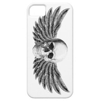 calavera1-winged barely there iPhone 5 case