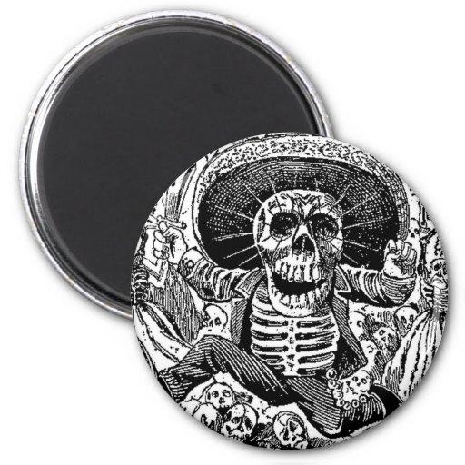 Calavera Day of the Dead Fridge Magnets