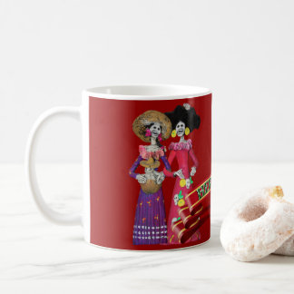 Calavera Hermanas Coffee Mug