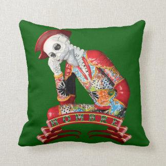 Calavera Hombre Cushion