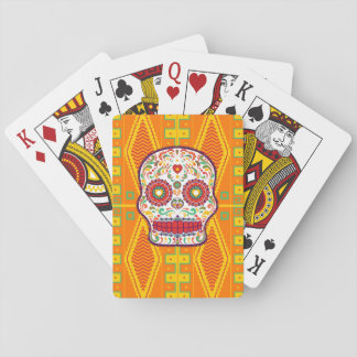 Calavera (II). Day of the Dead Mexican Sugar Skull Playing Cards