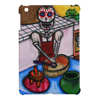CALAVERA LA COCINERA LA JEFA PAINTING CASE FOR THE iPad MINI