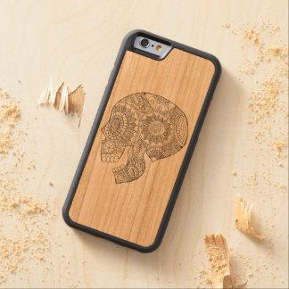 Calavera Mexican Day of the Dead Sugar Skull Cherry iPhone 6 Bumper