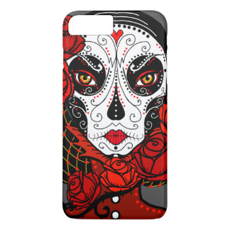 Calavera skull face iPhone case