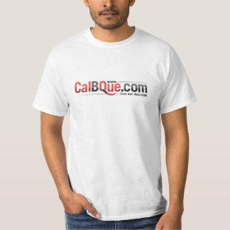 CalBQue Large logo T Shirts