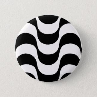 calçadão of Copacabana 6 Cm Round Badge