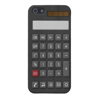 Calculate it cover for iPhone 5/5S