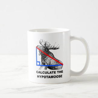 Calculate the Hypotamoose Funny Mug
