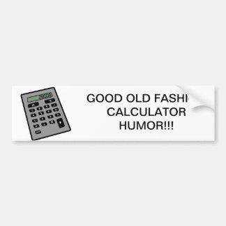 Calculator - 28008 bumper sticker