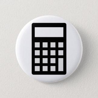 Calculator 6 Cm Round Badge