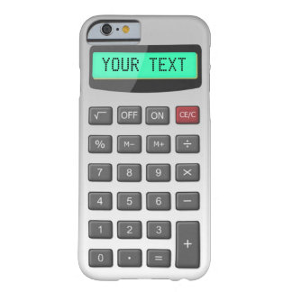Calculator Barely There iPhone 6 Case