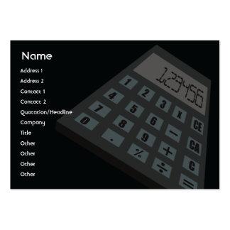 Calculator - Chubby Business Card Template