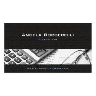 Calculator Grey Accounting Business Card